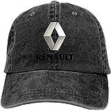 663 TEJNFDHSRRE Ren-Ault Unisex Logo Cowboy Hat Adjustable Casual Baseball Cap Denim Dad Hat