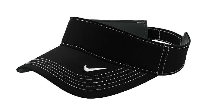 2a317d7e Amazon.com : NIKE Golf - Dri-FIT Swoosh Visor, 429466, Black, No Size :  Visors Headwear : Clothing