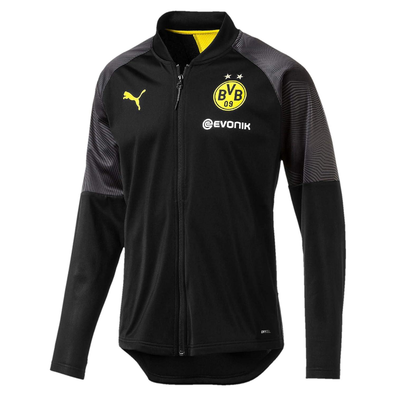 Puma Herren BVB Stadium Poly Jacket with Sponsor Logo Trainingsjacke