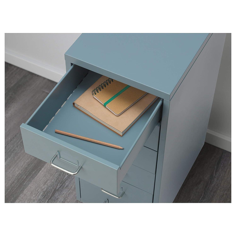 Ikea Helmer - Cajonera con Ruedas, Color Azul, Totalmente de ...