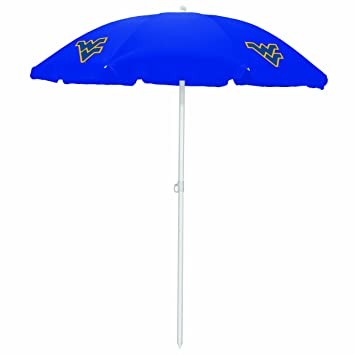 NCAA West Virginia Mountaineers Portable Sunshade Umbrella