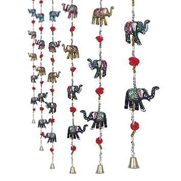 Door Hanging Designs designer traditional indian door hangings Jaipuri Haat Rajasthani Elephant Door Hanging Home Decor Set Of 2
