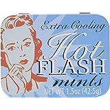 Hot Flash Mints Extra Cooling Tin Fun Gag Gift