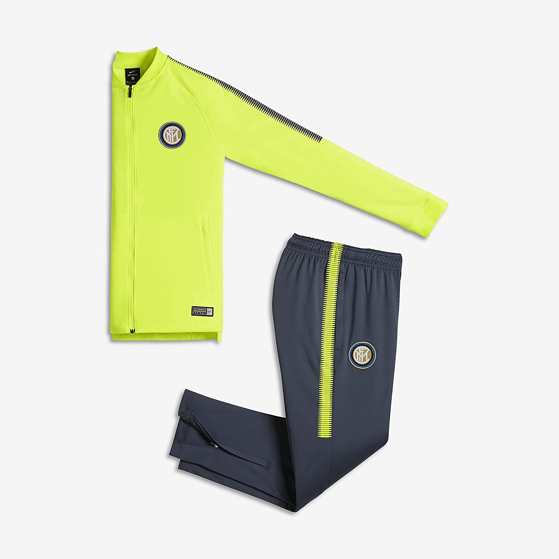 Nike Inter Y Nk Dry Sqd TRK Suit K Chándal Milan, Niños: Amazon.es ...