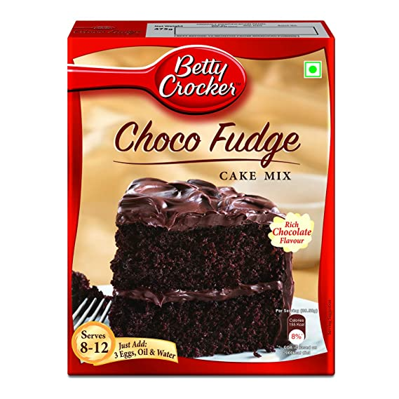 Phenomenal Betty Crocker Chocolate Fudge Cake Mix 475G Amazon In Grocery Funny Birthday Cards Online Barepcheapnameinfo