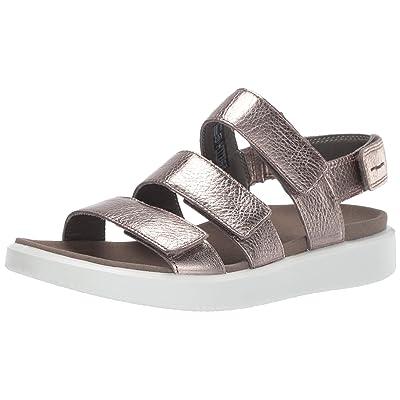 ECCO Women's Flowt 3 Strap Sandal | Sport Sandals & Slides
