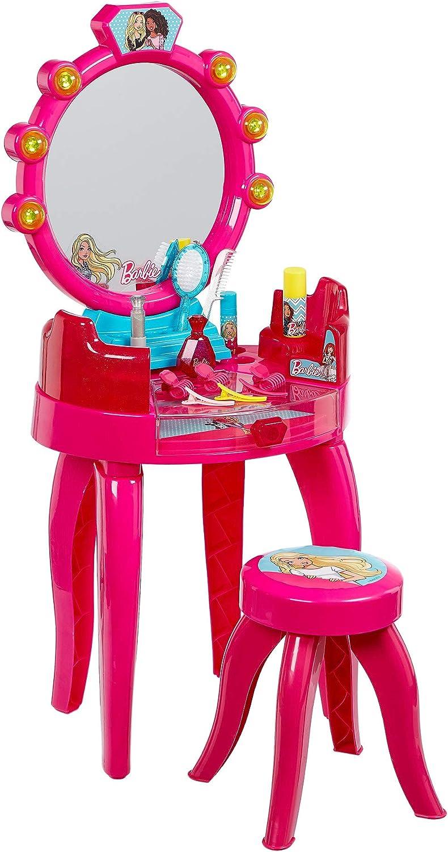 Theo Klein-5320 Barbie Salón De Belleza Con Accesorios, Juguete, Multicolor (5320)