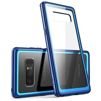 i-Blason Carcasa para Samsung Galaxy Note 8 (Lanzamiento en 2017), Funda Serie Halo [Resistente a arañazos] con Cubierta antigolpes (Azul Marino)