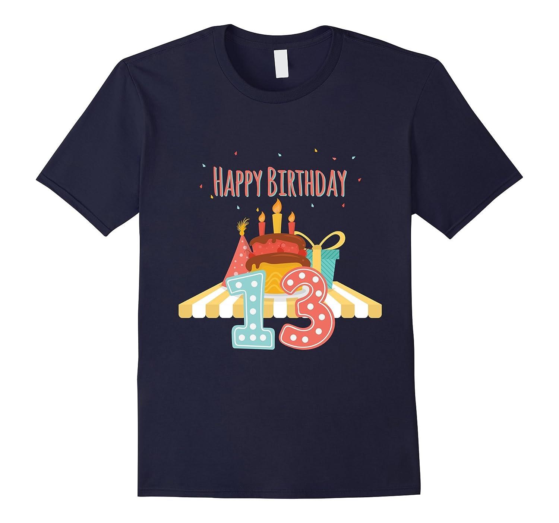 13th thirteenth 13 thirteen years old happy birthday t shirt-CD