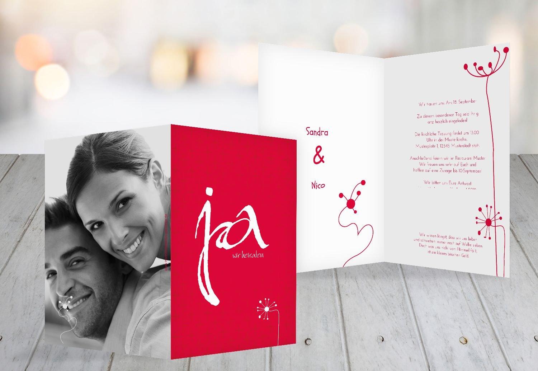Kartenparadies Hochzeitskarte Hochzeit Einladung abstrakte Blaumen, hochwertige Einladung zur Heirat inklusive Umschläge   100 Karten - (Format  105x148 mm) Farbe  AquaTürkis B01MR7UHDY | Verschiedene aktuelle Designs  | Elegante Form  | Primä