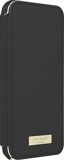 Amazon.com: Incipio Apple iPhone 7/8 Kate Spade New York Folio Case - Black Folio: Cell Phones & Accessories