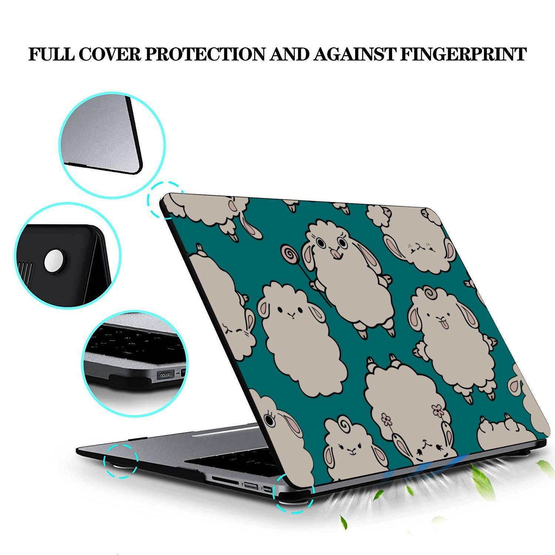 MacBook A1466 Case Sheep Retro Wild Animal Naturel Plastic Hard Shell Compatible Mac Air 11 Pro 13 15 Case MacBook Air 13 Protection for MacBook 2016-2019 Version