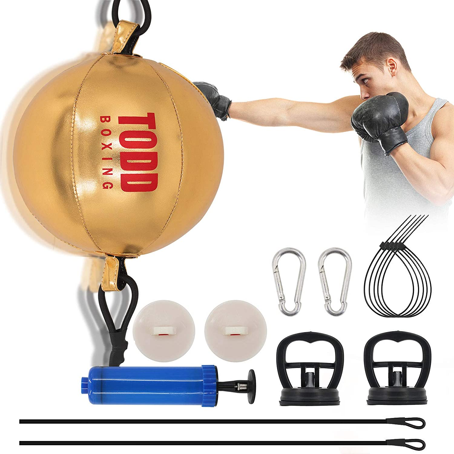 Boxing Ball Double-end Speed Training Punching Balls Hanging For Fitness Reflex
