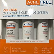 Amazon Com Acnefree 3 Step 24 Hour Acne Treatment Kit Clearing