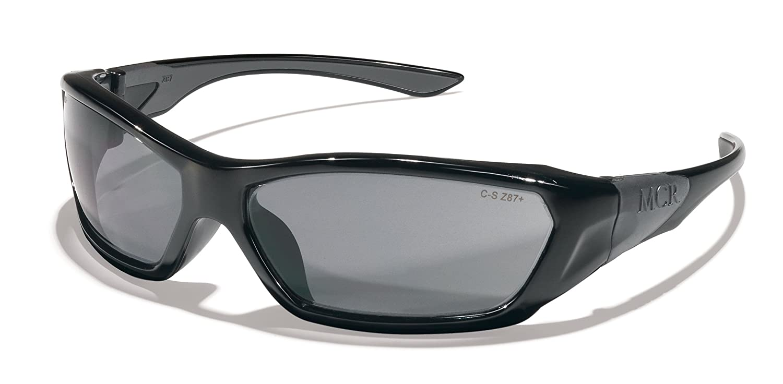 9e9f9400bcc Crews FF128B Force Flex Military Ballistic Safety Glasses Black Frame Blue  Diamond Lens