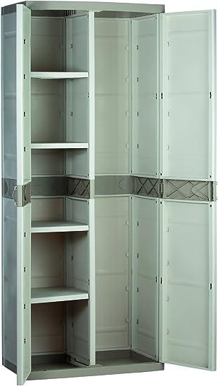 Plastiken M282967 - Armario de Resina escobero plastek 176 x 70 x 44 cm: Amazon.es: Bricolaje y herramientas