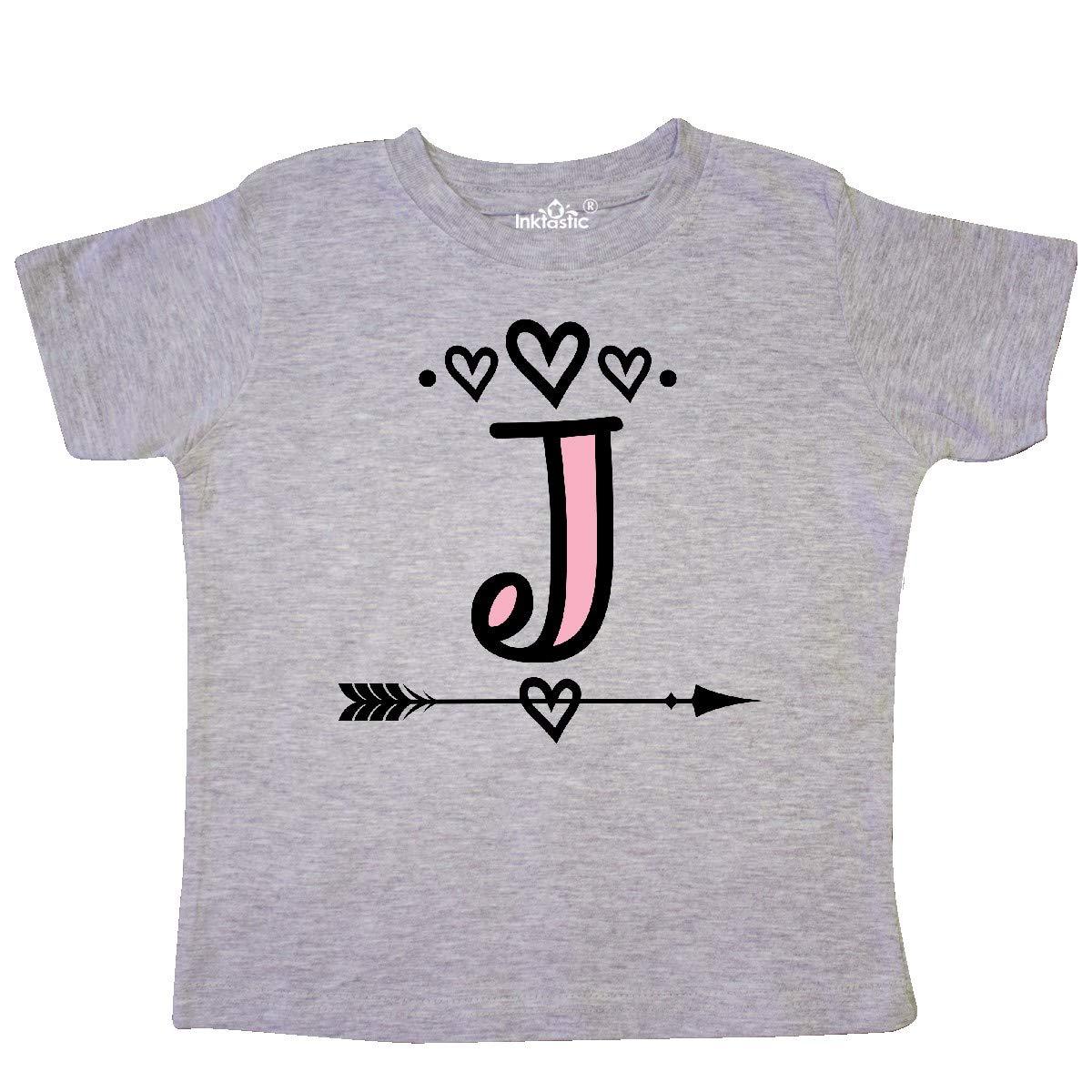 inktastic Letter J Monogram Tribal Arrow Toddler T-Shirt