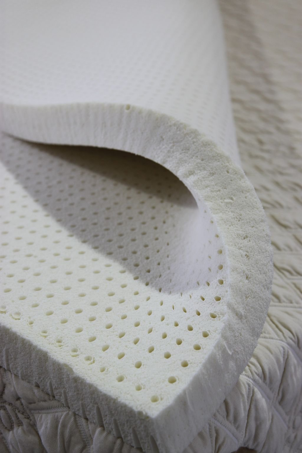 PlushBeds 3'' Soft Natural Talalay Latex Topper - Twin XL