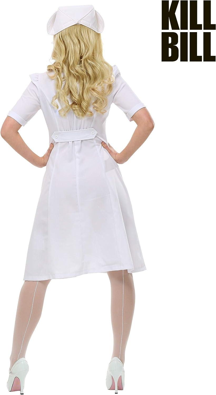 Kill Bill Elle Driver Nurse Womens Fancy dress costume Small ...