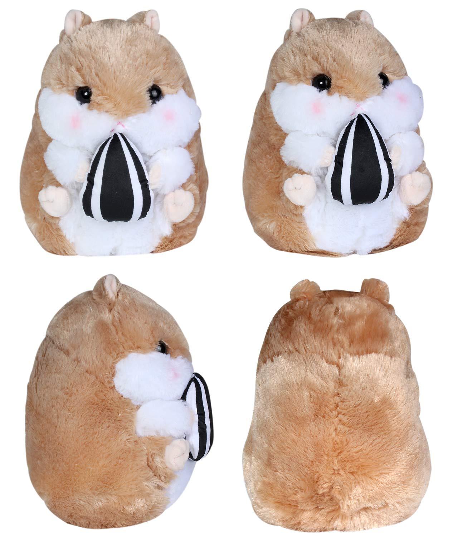 Birthday Gifts for Kids. Kosbon Plush Hamster 10 Stuffed Mouse,100/% Plush Stuffed Animals Doll Toys Birthday Gifts for Kids. Brown 10 Brown 10