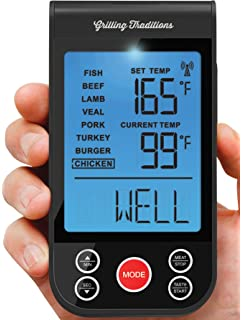Grilling Traditions Wireless Grilling Thermometer