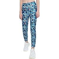 dPois Niñas Leggins Mallas Estampados Pantalones Elásticos Leggings Deportivos Yoga Gym Correr para Niñas Chicas 4-14…