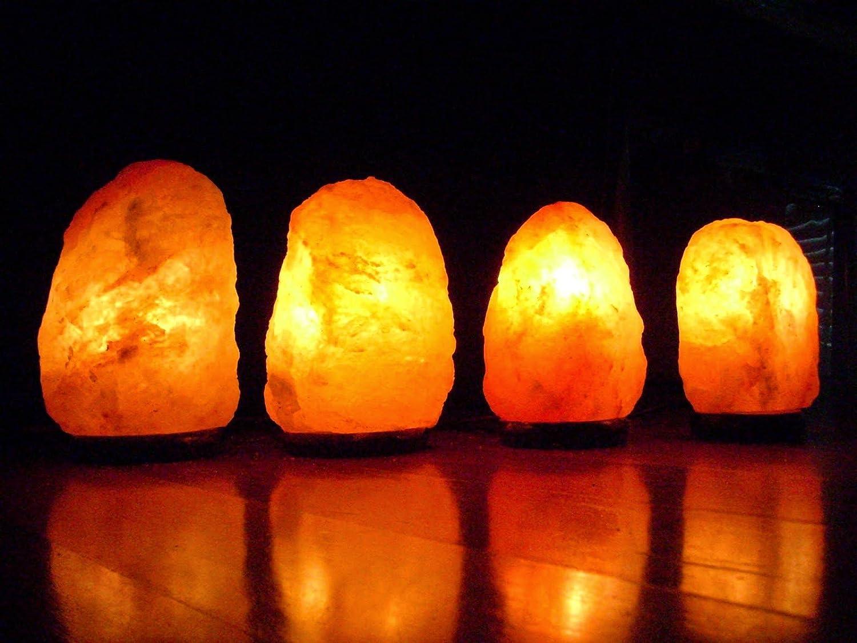 Lampada Di Cristallo Di Sale Ionizzante : Lampada di sale dell himalaya cristallo rosa lampada di sale