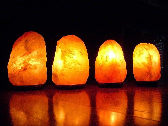 Rock Salt Crystal Lamps   2 3Kgs