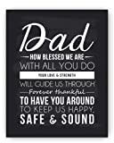 "Amazon Price History for:Dad Poem Chalkboard Print by Ocean Drop Photography (8x10"") - Thoughtful Gift for Dad and the Perfect Father's Day Gift - Beautiful Black and White Typography Artwork - Ready to Hang, Hanger Included"