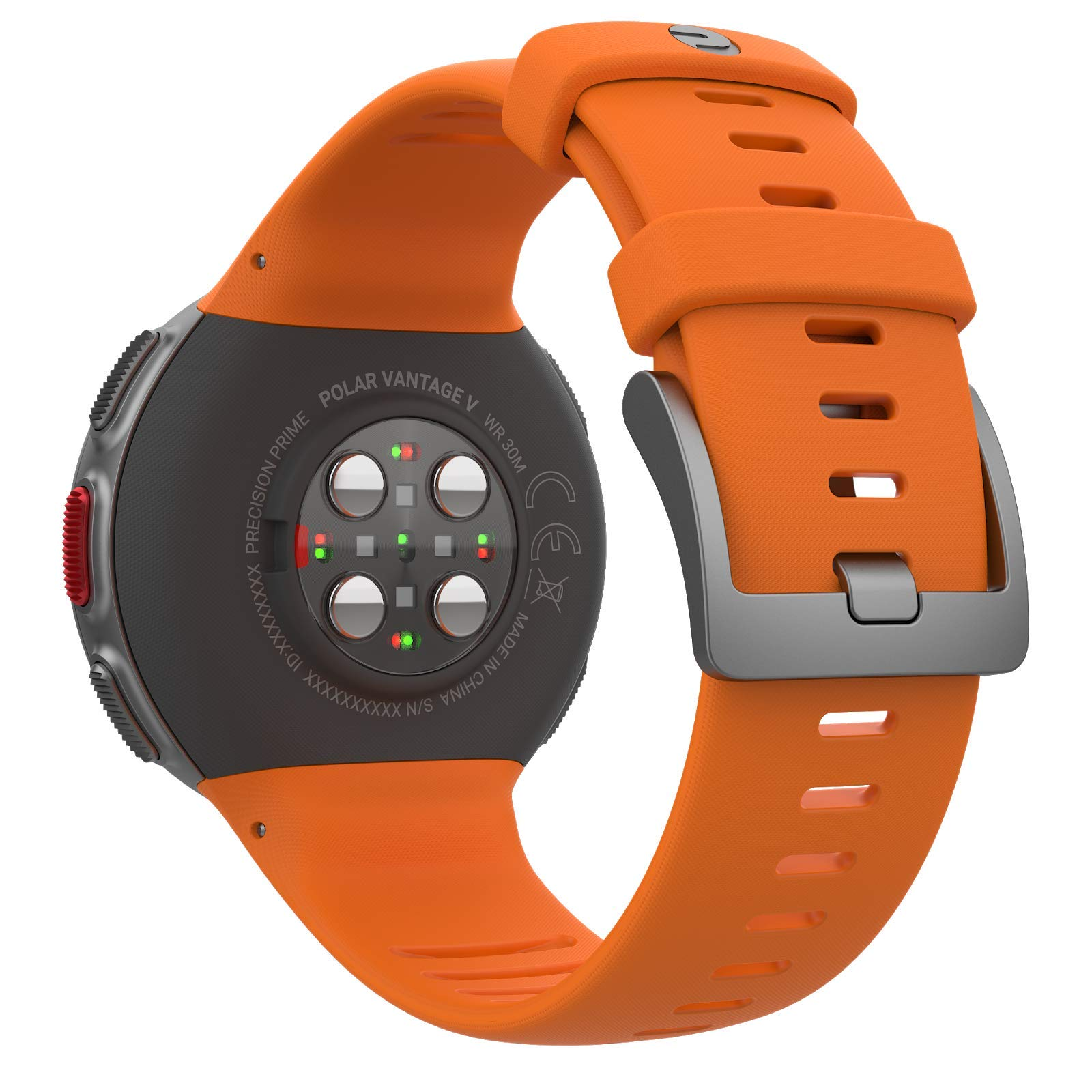 PlayBetter Polar Vantage V Pro Multisport Watch (Orange) Power Bundle Portable Charger & Screen Protectors | GPS & Barometer | Heart Rate by PlayBetter (Image #5)