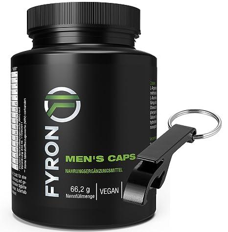 FYRON MENs - Esperma + Testosterona + Rendimiento + Pasión - 90 cápsulas