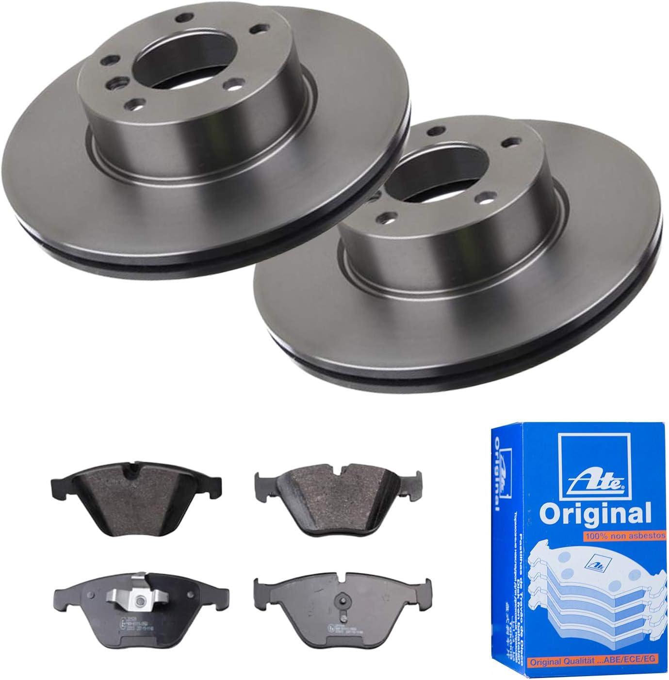 2 Bremsscheiben /Ø312 Bel/üftet Bremsbel/äge ATE Vorne P-A-01-00257 Bremsanlage