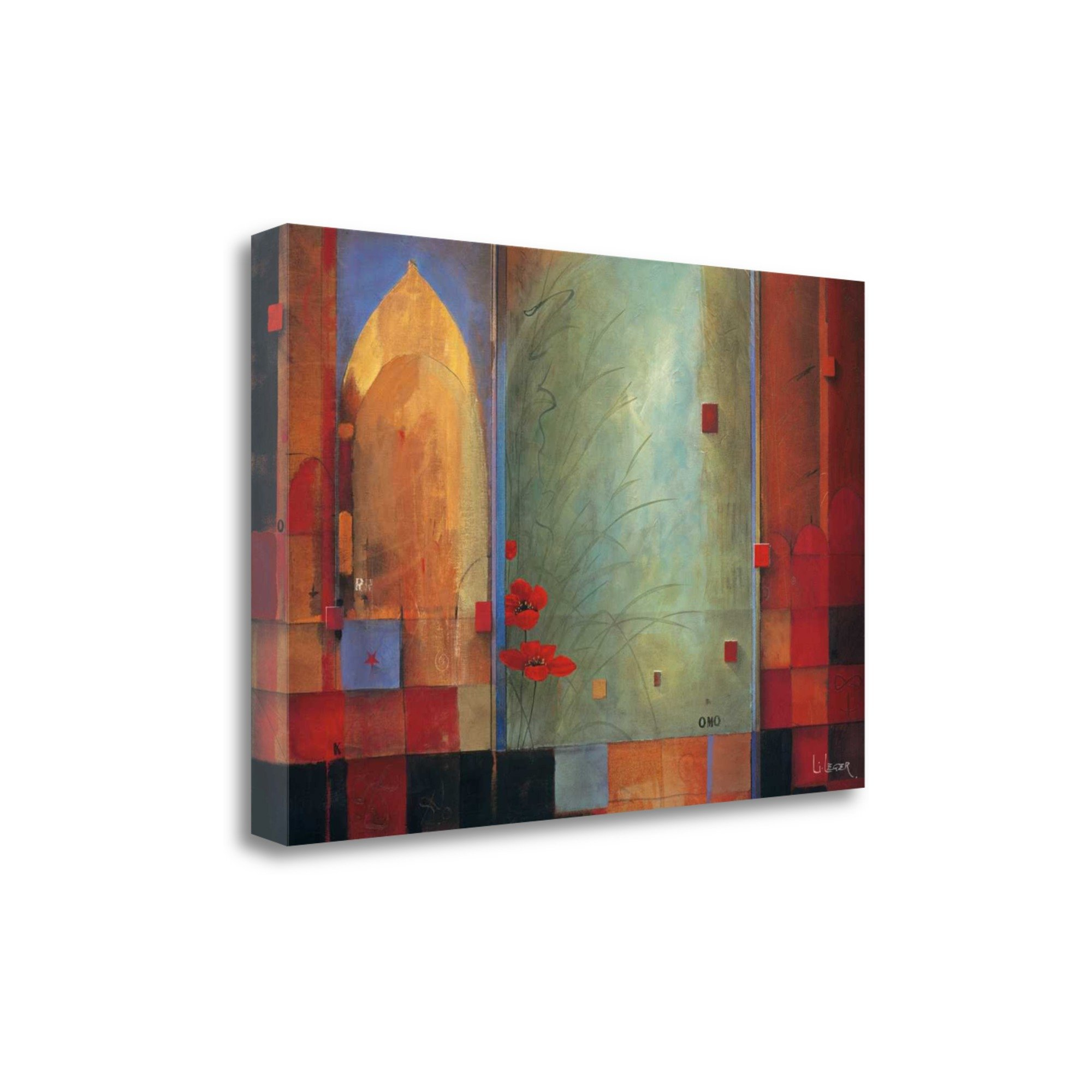 ''Passage To India'' By Don Li-Leger, Fine Art Giclee Print on Gallery Wrap Canvas, Ready to Hang