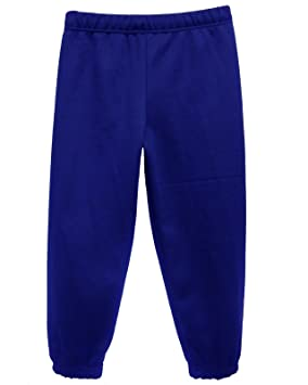 8375264233b CL Childrens/Kids Unisex Jog Pants / Jogging Bottoms (Royal Blue, 7-8 Years)