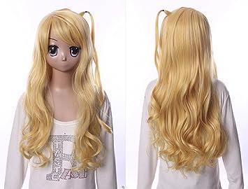 W de 541 sasami de San @ ganbara Kurenai tama yagami Rubio 70 cm Cosplay peluca