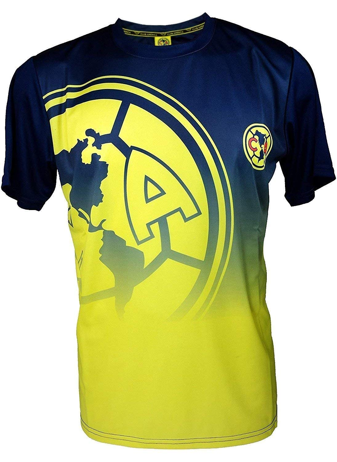 Club America Soccer Team Luxury Twin Sheet 3 piece Set featuring Playing Eagle Mascot JPI