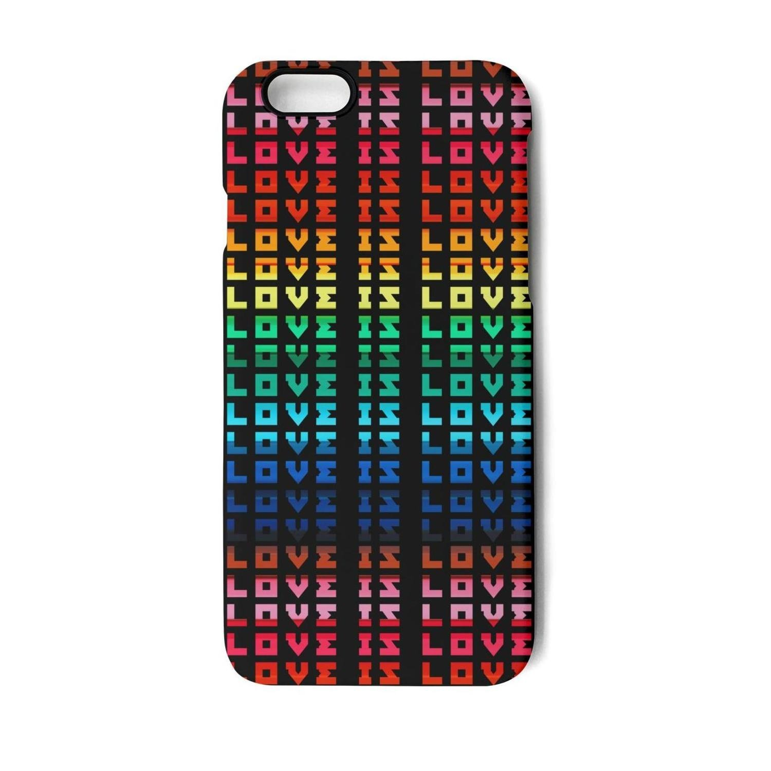 Amazon.com: Vekq iPhone 6/6s Case Love is Love retro Rainbow Gay Lesbian  Shock Absorption Soft TPU Back Cover Compatible with iPhone 6/6s: Cell  Phones & ...