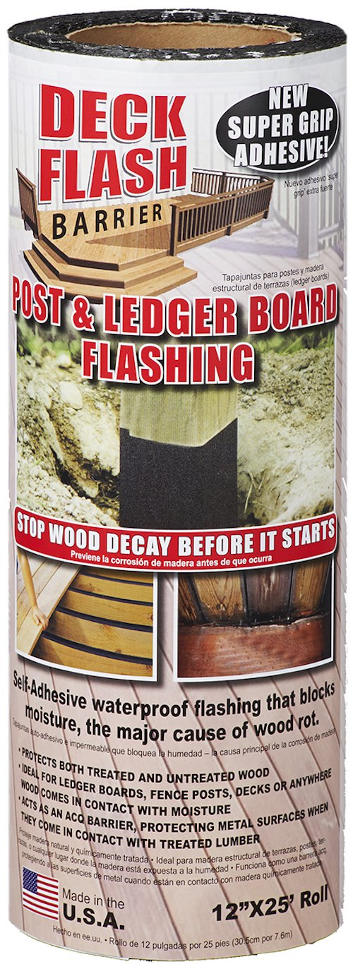 Cofair DFB1225 Deck Flash Barrier 12 x 25