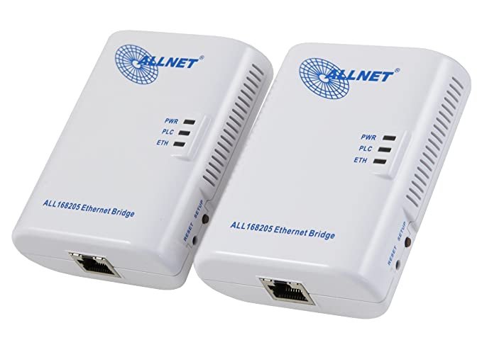 Allnet 200 Mbit Powerline Ethernet Bridge Bundle: Amazon.de ...