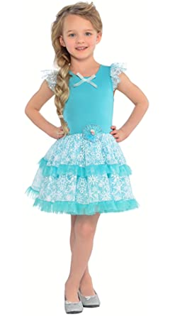 Amazon.com: Disney Frozen disfraz de Elsa Vestido Tutú: Clothing
