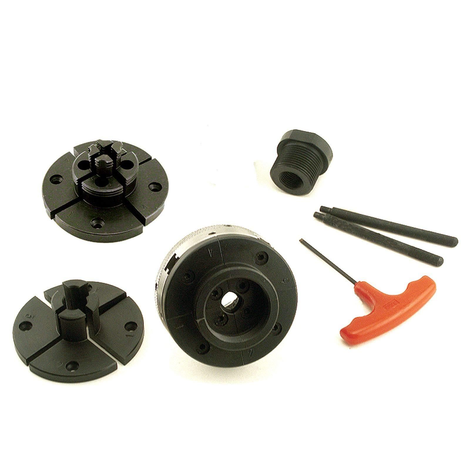 PSI CMG3C Mini Grip 4 Jaw Wood Lathe Chuck System