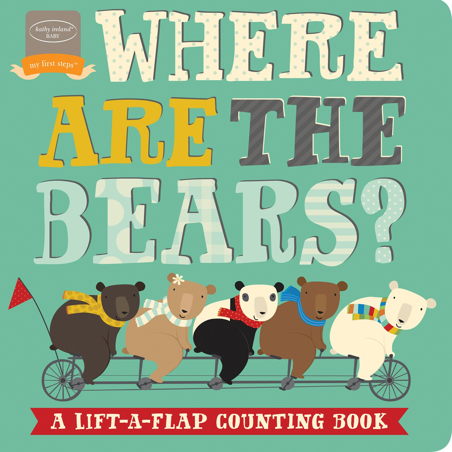 Amazon.com: Bendon Where are The Bears Lift-A-Flap Counting Learning  Activity Toy Board Book Learning Toy: Kate Stone: Toys & Games