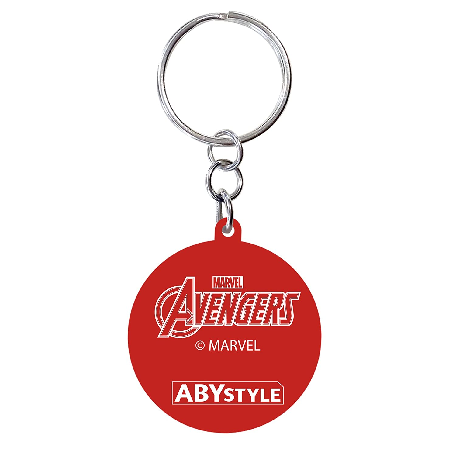 Amazon.com: AbyStyle Abysse Corp_ABYKEY174 Marvel-Keychain ...