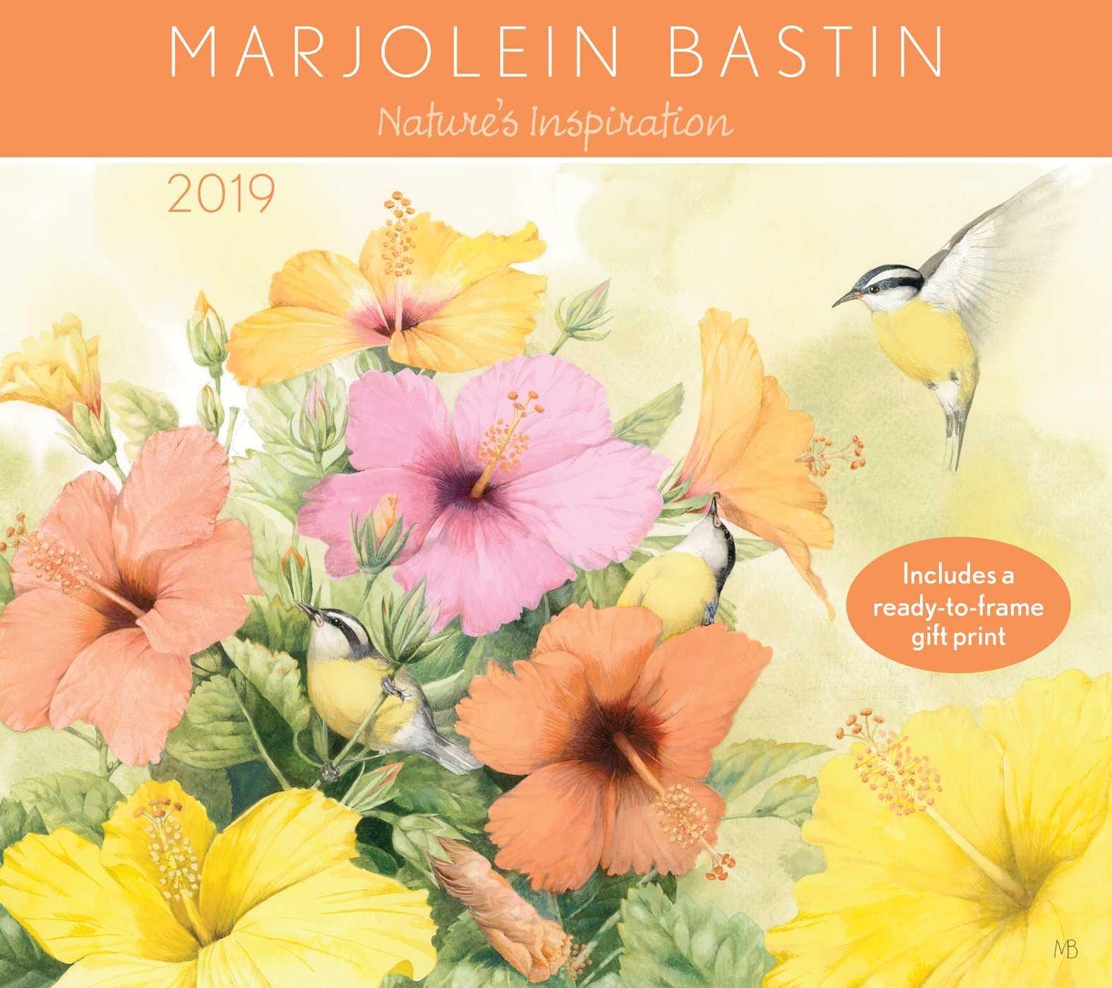 Amazon.com: Marjolein Bastin 2019 Deluxe Wall Calendar: Nature\'s ...