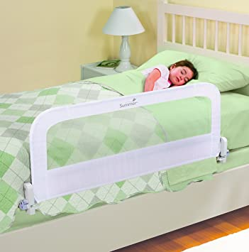 Summer Infant Out Of Sight Bedrail White