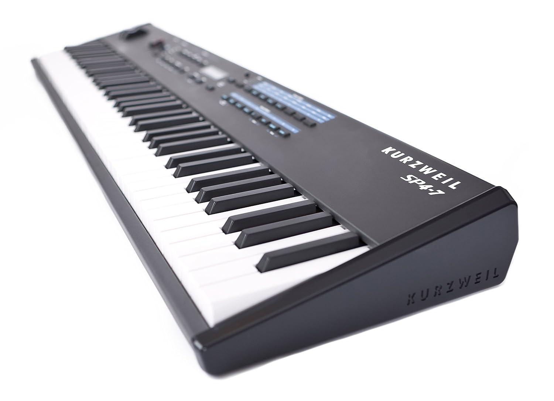 Amazon.com: Kurzweil SP4-7 76 Note Digital Stage Piano, Semi Weighted Keys,  128 Programs, 64 Split Polyphony, Split Layer, Setup Mode, 24 Bit DSP  Technology ...