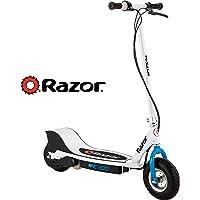 Razor E300 Electric Scooter, Escúter Eléctrico  - Blanco con Azul