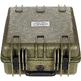 Pl/ástico a Prueba de Agua Oliva MFH Caja 36x41,9x19,5 cm