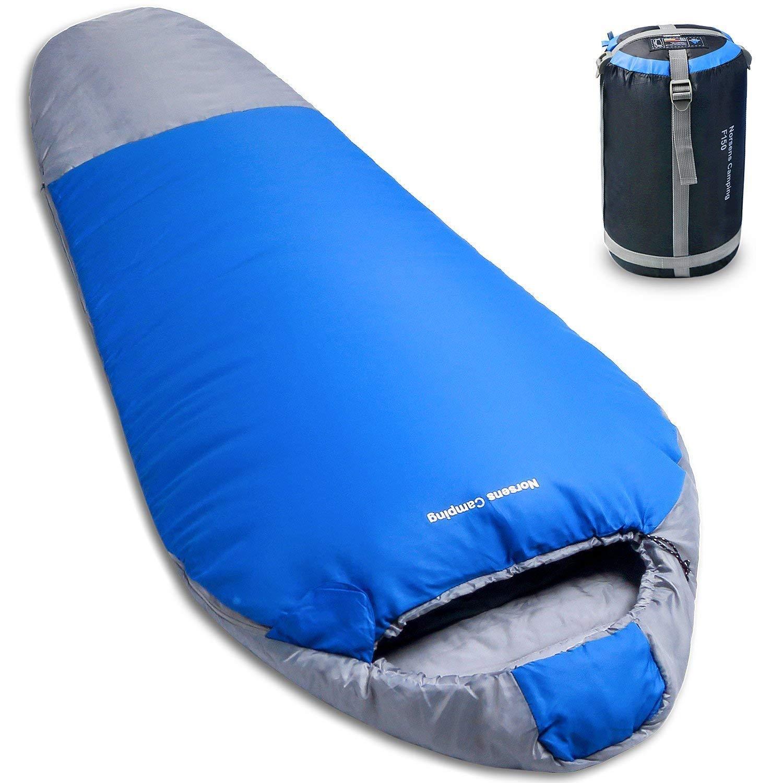 c464b8b6abc Amazon.com   NORSENS Lightweight Compact Mummy Sleeping Bag with ...