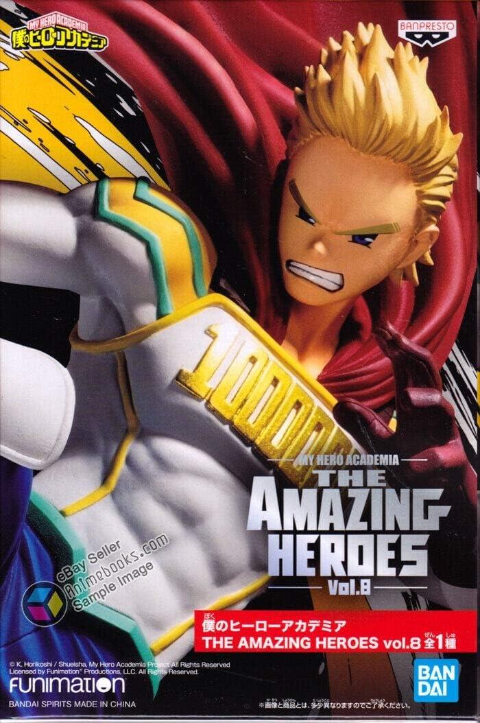 Banpresto My Hero Academia Amazing Heroes Figure Mirio Togata Lemillion BP16212